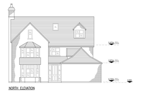 Residential Elevations Sample