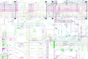 coordination drawings m and e services
